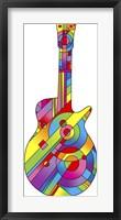 Framed Guitar 79