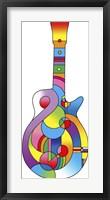 Framed Guitar 712