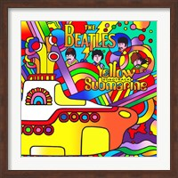 Framed Yellow Submarine