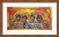 Framed Beatles Sgt Peppers