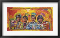 Framed Beatles Sgt Peppers