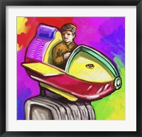 Framed Kiddie Rocket Ride