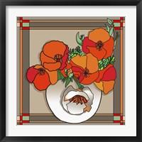 Framed Poppy Bowl