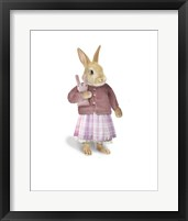 Framed Cotton Tail