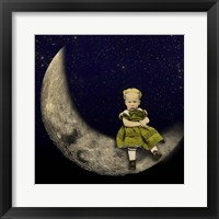 Framed Moon Rider