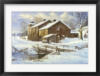 Framed Fresh Snow