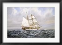 Framed Brigantine
