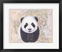 Framed Asian Panda