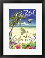 Framed Relax Palm Chair