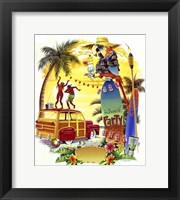 Framed Woodie Beach Party