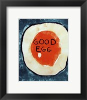 Framed Good Egg