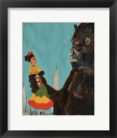 Framed Frida Kong