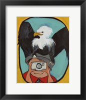 Framed Smile Eagle