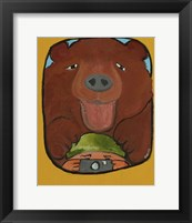Framed Smile Grizzley