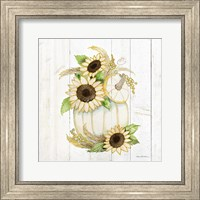 Framed Autumn Elegance II Gold