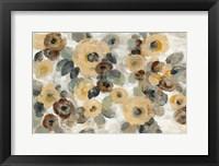 Framed Neutral Floral Beige I