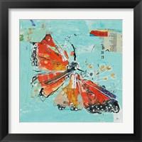 Framed Monarch I Crop
