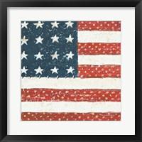 Framed Americana Quilt IV