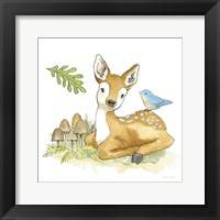 Framed Baby Woodland III