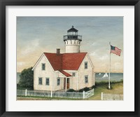 Framed Lighthouse Keepers Home