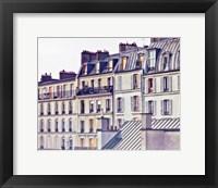 Framed Bon Nuit Paris