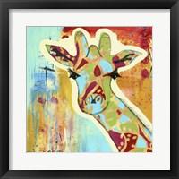 Framed Calypso The Giraffe
