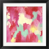 Framed Candy Clouds - Abstract