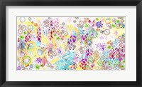 Framed Colorful Chaos - Jennifer
