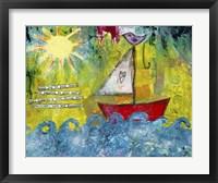 Framed Sail Towards