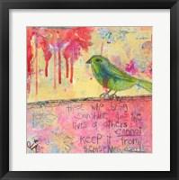 Framed Sunshine Bird