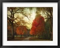 Framed Autumn Promenade