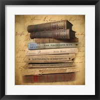 Framed Chapter and Verse