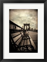 Framed Brooklyn Bridge Respite