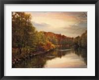 Framed Sunset Pond