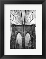 Framed Brooklyn Bridge Mood