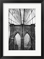 Framed Brooklyn Bridge Mood