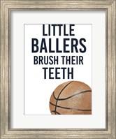Framed Little Ballers I