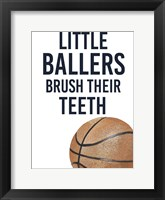 Framed Little Ballers I