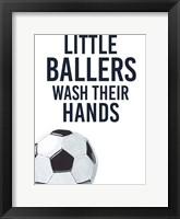 Framed Little Ballers II