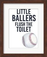 Framed Little Ballers IV