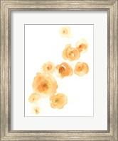 Framed Falling Blossoms I