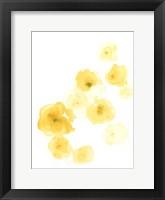 Framed Falling Blossoms IV