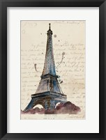 Framed Letters from Eiffel