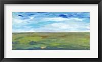 Vast Land II Framed Print