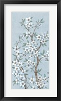 Branches of Blossoms I Framed Print