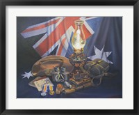Framed Anzac Remembered