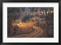 Framed Bush Bonfire
