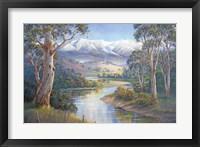 Framed Autumn Snow - Murray Valley