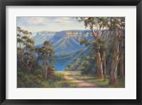Framed Blue Mountains Bushwalk