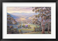 Framed Close Of Day - Vacy